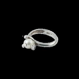 Inel argint Pearl