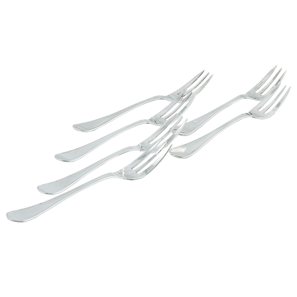 Furculite argint Dessert