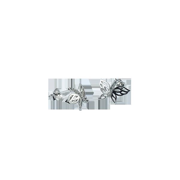 Cercei argint Butterfly